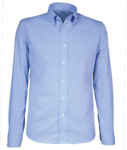 Giovanni Capraro 21-33 Heren Overhemd - Licht Blauw