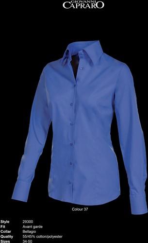Giovanni Capraro 29300-37 Blouse - Donker Blauw