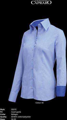 Giovanni Capraro 29310-34 Dames Blouse - Blauw [Navy accent]