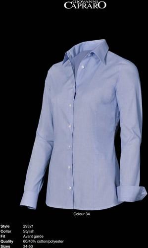 Giovanni Capraro 29321-34 Dames Blouse - Licht Blauw
