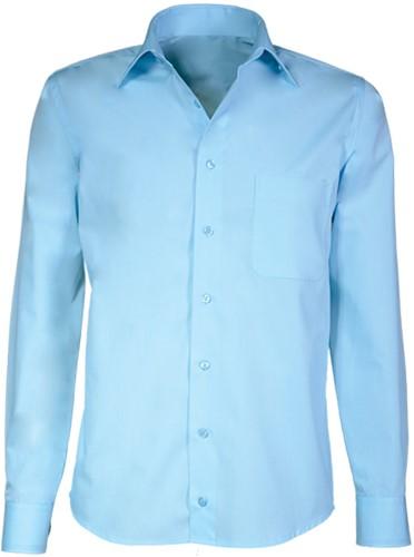 Giovanni Capraro 30-32 Heren Overhemd - Licht Blauw