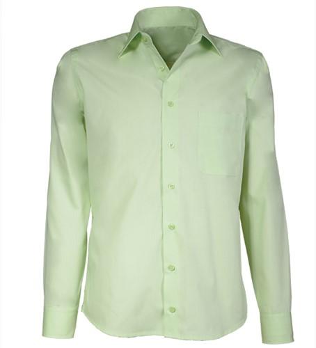 Giovanni Capraro 30-53 Heren Overhemd - Licht Groen