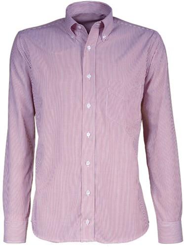 Giovanni Capraro 38-02 Overhemd - Licht Roze Gestreept
