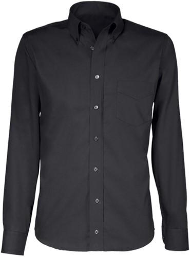 Giovanni Capraro  44-20 Heren Overhemd - Zwart