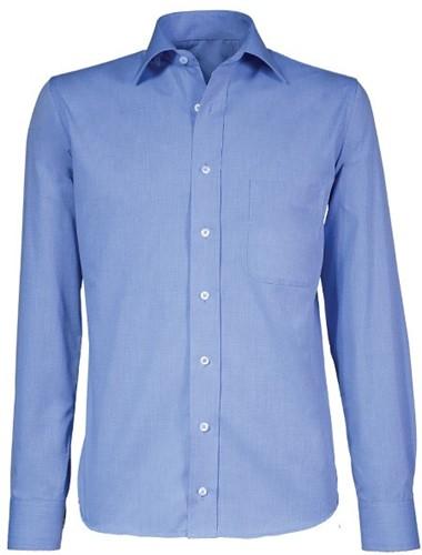 Giovanni Capraro 70-34 Heren Overhemd - Blauw