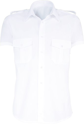 Giovanni Capraro 8-1 Heren Pilot Overhemd - Wit