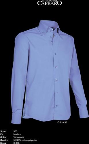 Giovanni Capraro 900-33 Overhemd - Blauw