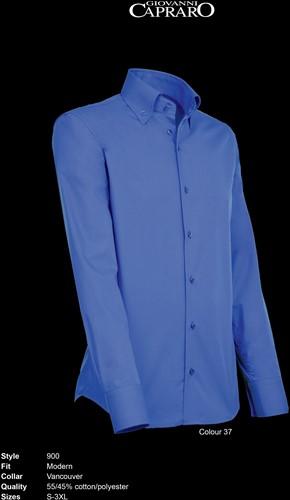 Giovanni Capraro 900-37 Heren Overhemd - Donker Blauw