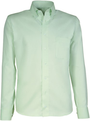 Giovanni Capraro  90-52 Heren Overhemd - Licht Groen