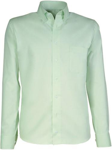 Giovanni Capraro  90-52Heren Overhemd - Licht Groen