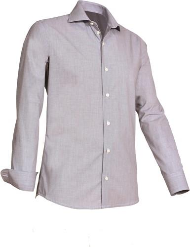 Giovanni Capraro 921-20 Heren Overhemd - Grijs
