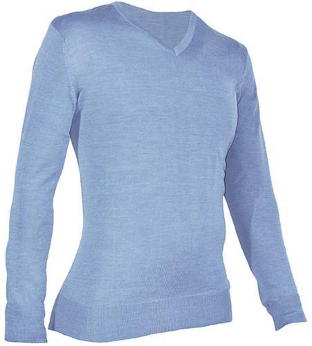 Giovanni Capraro 933-32 Heren Pullover - Licht Blauw