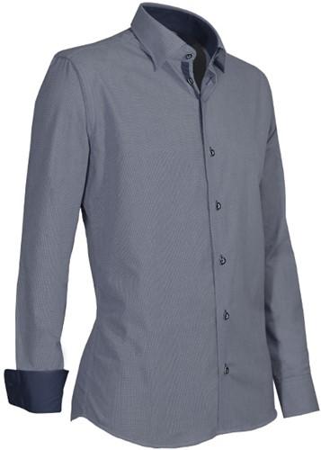 Giovanni Capraro 934-39 Heren Overhemd - Grijs
