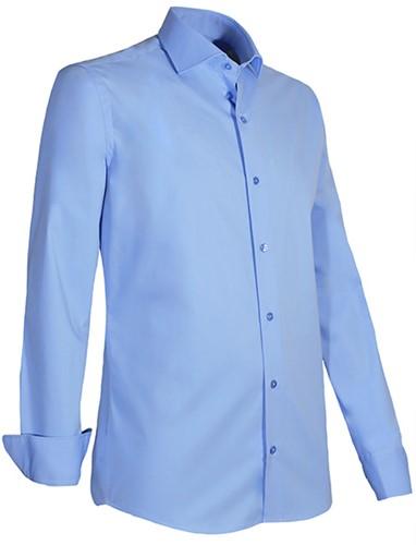 Giovanni Capraro 936-32 Heren Overhemd met stretch - Licht Blauw