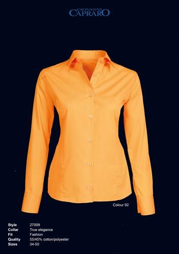 Giovanni Capraro 27009-92 Blouse Dames - Oranje